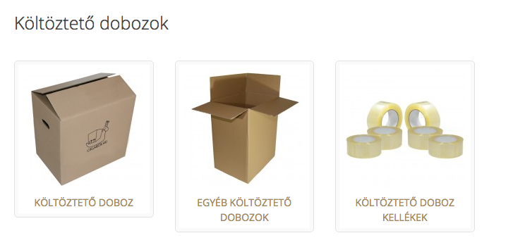 költöztető doboz ár